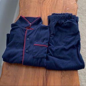 Baby gap Fleece Pajama Set.